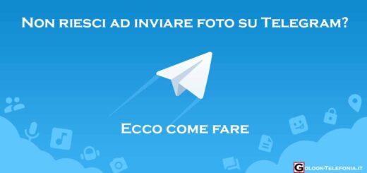 telegram non invia foto