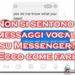 Messenger: non si sentono i messaggi vocali? Ecco come fare