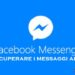 Come vedere le chat archiviate su Facebook Messenger